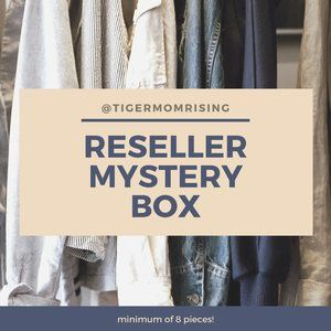 8+ Piece Mystery Box for Resellers! Mixed sizes.